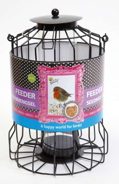 Buzzy Birds Cage Feeder Seeds